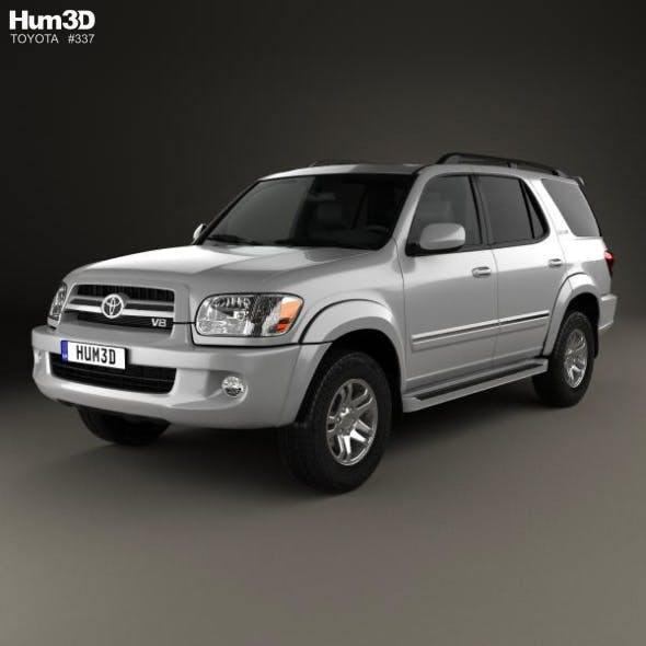 Toyota Sequoia Limited 2004 - 3DOcean Item for Sale