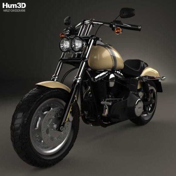 Harley-Davidson Dyna Fat Bob 2016 - 3DOcean Item for Sale