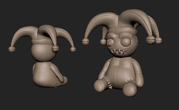 Voodoo Doll ISC - 3DOcean Item for Sale