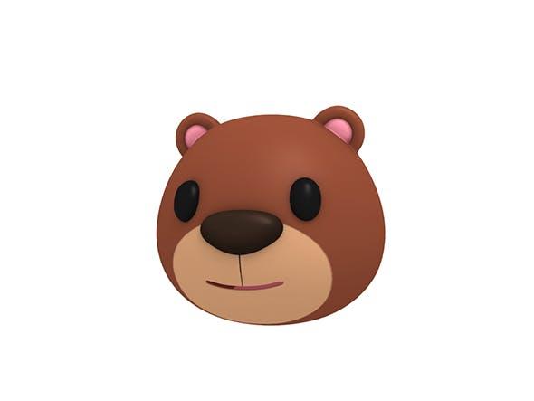 Bear Head - 3DOcean Item for Sale
