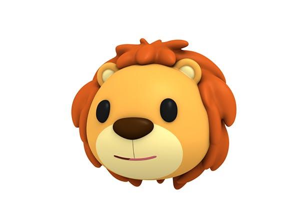 Lion Head - 3DOcean Item for Sale