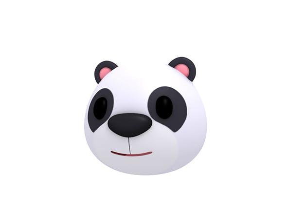 Panda Head - 3DOcean Item for Sale