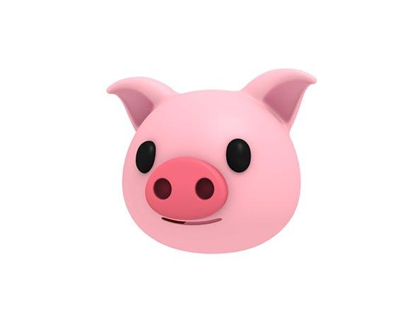 Pig Head - 3DOcean Item for Sale
