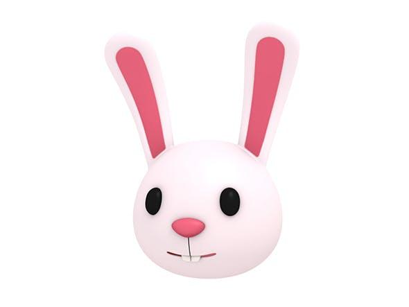 Rabbit Head - 3DOcean Item for Sale