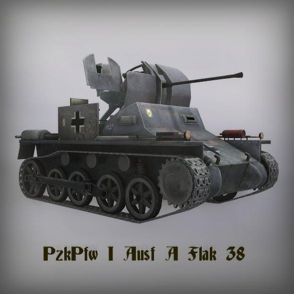 PzKpfw I Ausf A Flak 38
