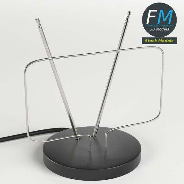 Basic indoor antenna - 3DOcean Item for Sale