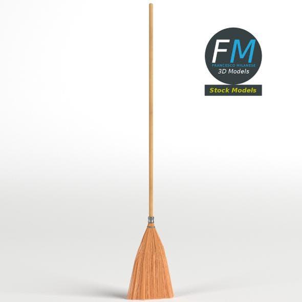 Shaker broom - 3DOcean Item for Sale