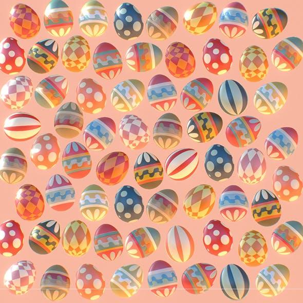 easter eggs - 3DOcean Item for Sale