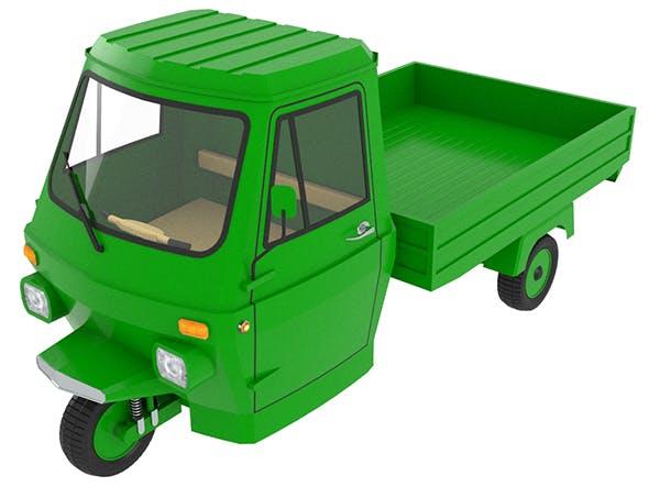 Three Wheel Pickup - 3DOcean Item for Sale