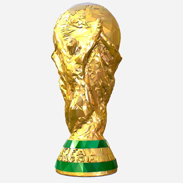 Low Poly Art FIFA World Cup Trophy - 3DOcean Item for Sale