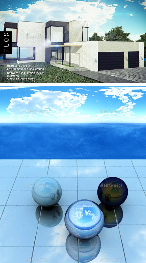 Daylight Sea 24 - 3DOcean Item for Sale