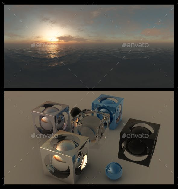 Ocean Dawn 15 - HDRI - 3DOcean Item for Sale