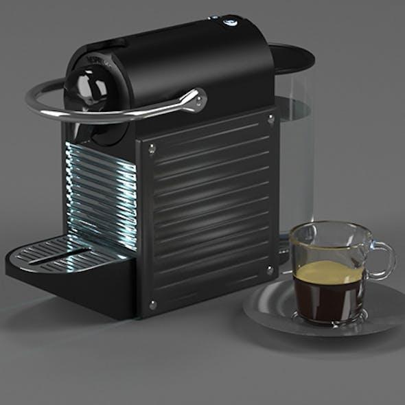 Coffee maker Nespresso Pixie Electric Titan