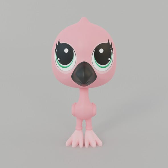 Flamingo Toy - 3DOcean Item for Sale