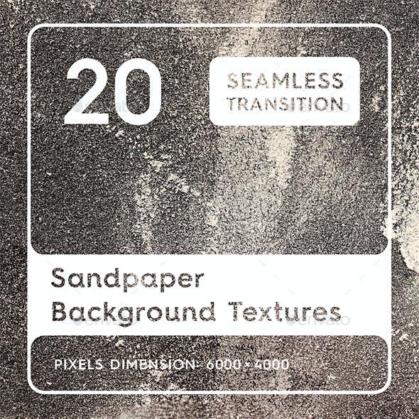 20 Sandpaper Background Textures