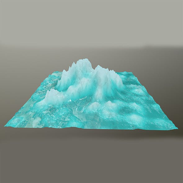 ice mountain - 3DOcean Item for Sale