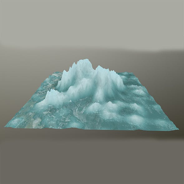 ice mountain  1 - 3DOcean Item for Sale