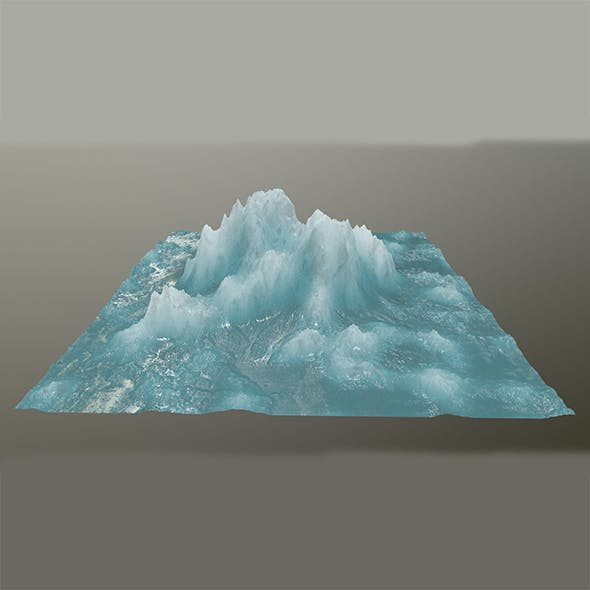 ice mountain 2 - 3DOcean Item for Sale
