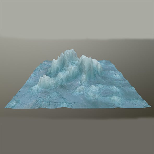 ice mountain 3 - 3DOcean Item for Sale