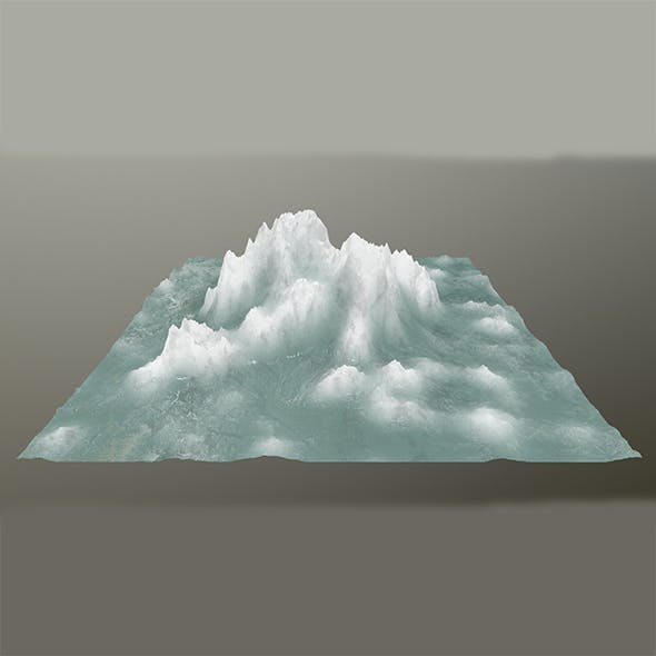 ice mountain 4 - 3DOcean Item for Sale