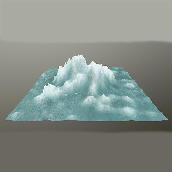 ice mountain 5 - 3DOcean Item for Sale