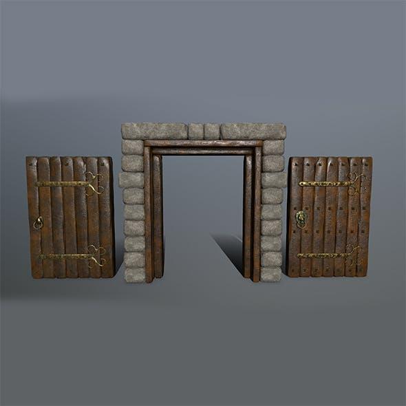 door 1 - 3DOcean Item for Sale