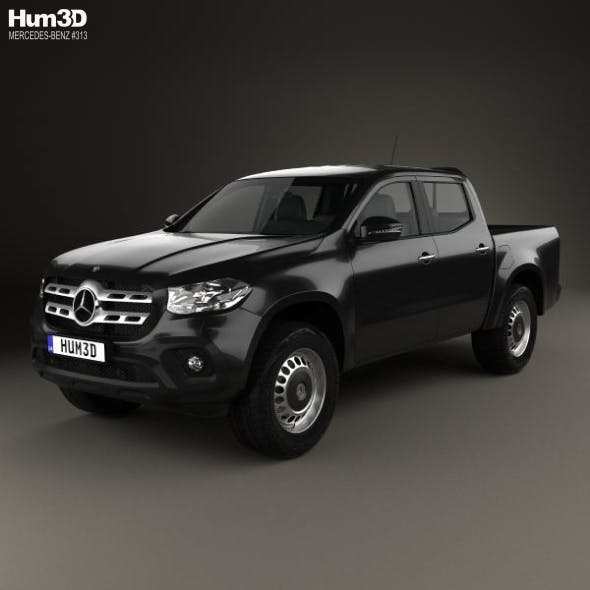 Mercedes-Benz X-Class Pure 2017 - 3DOcean Item for Sale