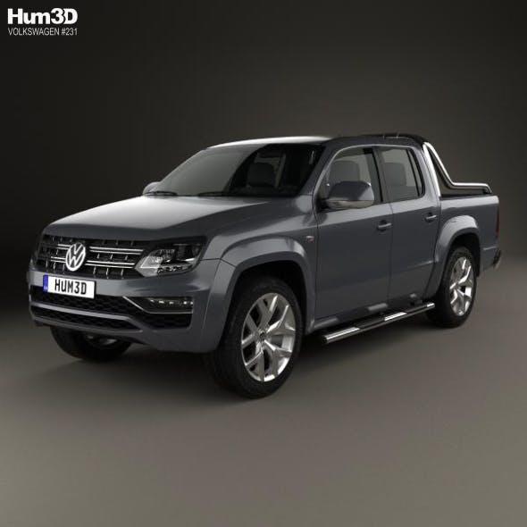 Volkswagen Amarok Crew Cab Ultimate 2016 - 3DOcean Item for Sale