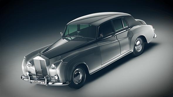 Rolls-Royce Silver Cloud II - 3DOcean Item for Sale