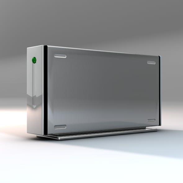 External HD Box - 3DOcean Item for Sale