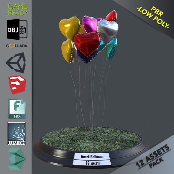 Heart Balloons Pack1