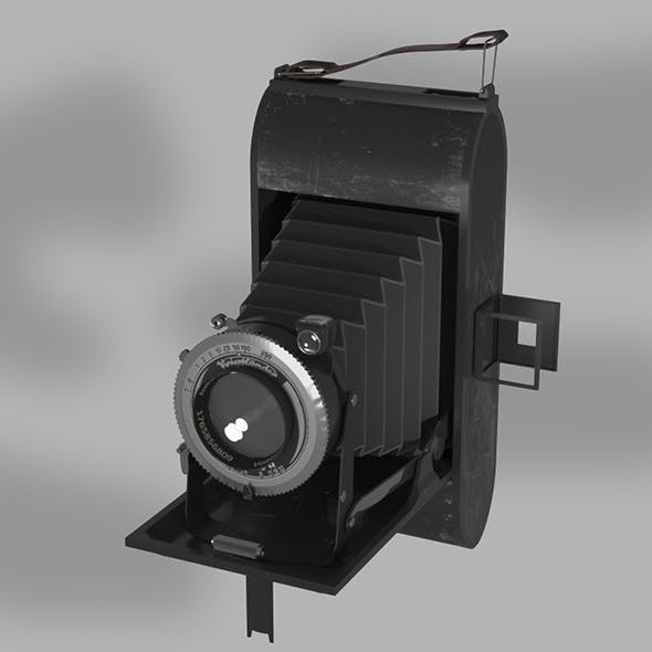 Photocamera Voigtlander Bessa - 3DOcean Item for Sale