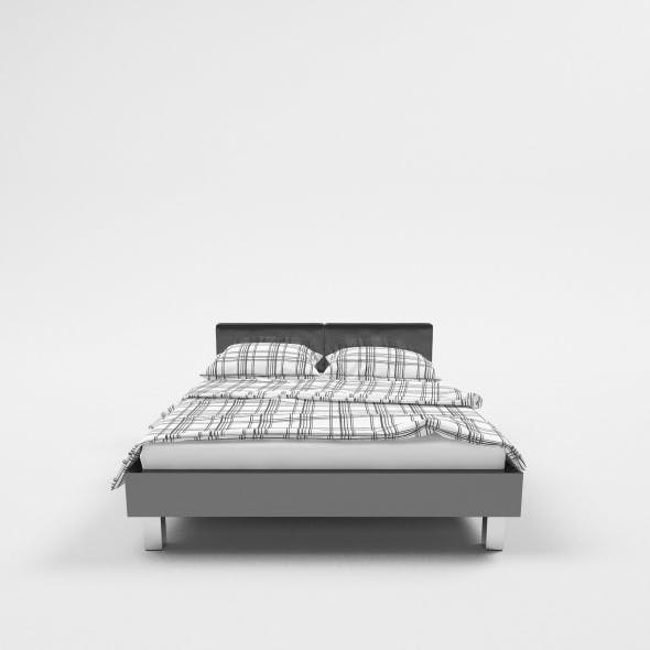 Bed C4d Vray - 3DOcean Item for Sale
