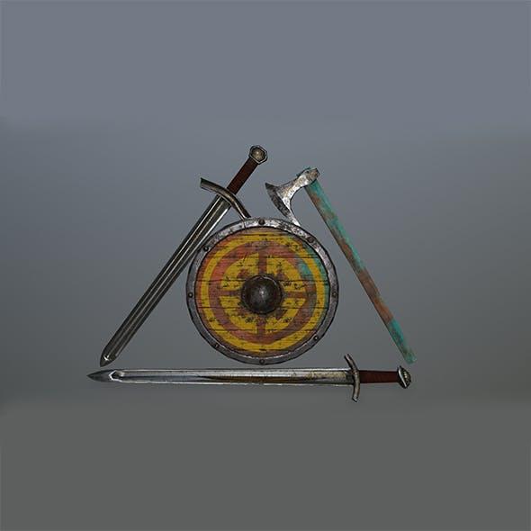 viking set - 3DOcean Item for Sale