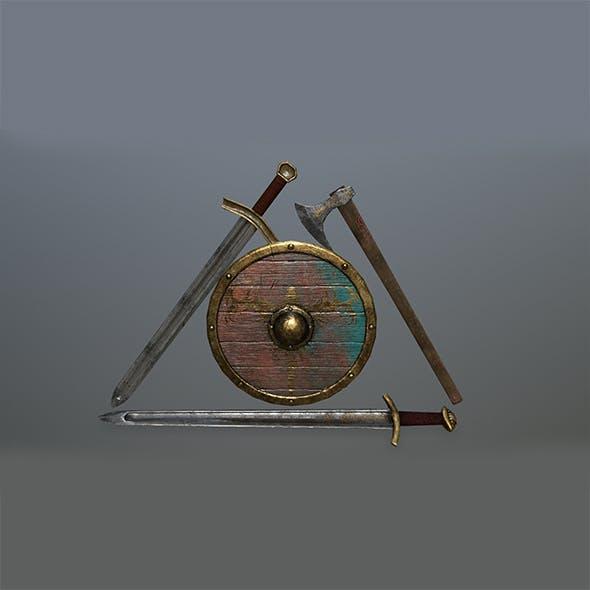 viking set 3 - 3DOcean Item for Sale