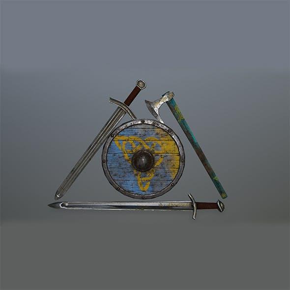 viking set 4 - 3DOcean Item for Sale