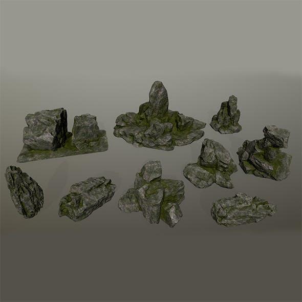 rocks 3 - 3DOcean Item for Sale