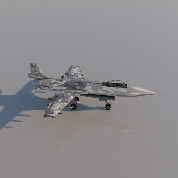Plane F16 - 3DOcean Item for Sale
