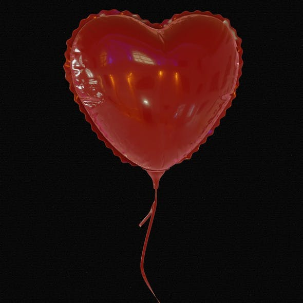 Valentine's Day Balloon - 3DOcean Item for Sale