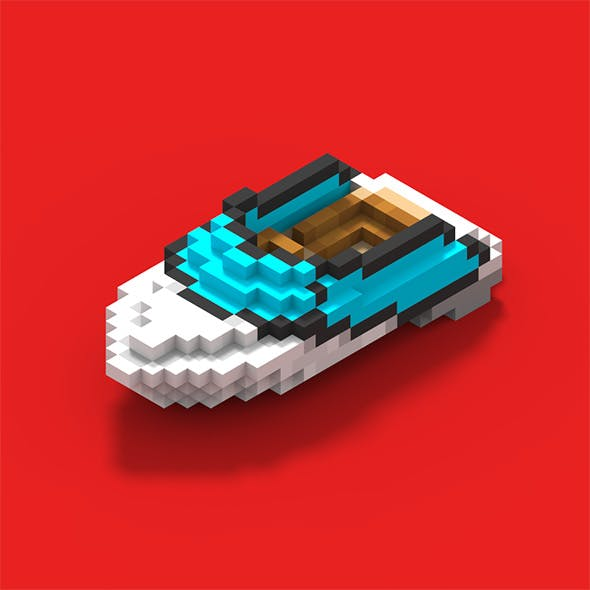 Magicavoxel CG Textures & 3D Models from 3DOcean