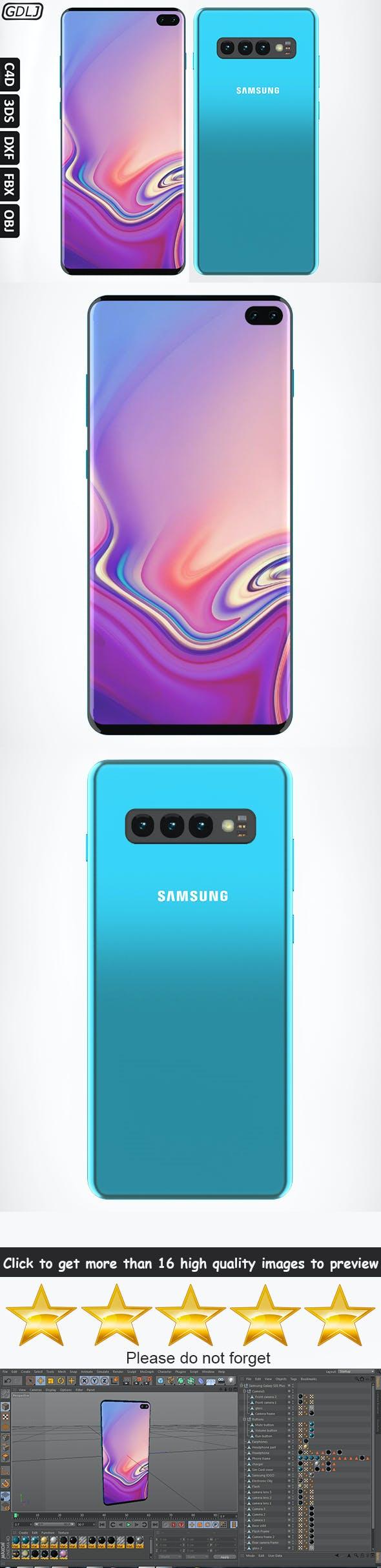 Samsung Galaxy S10 Plus - 3DOcean Item for Sale