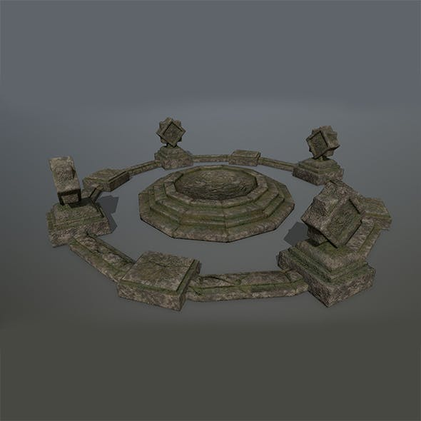 Old_Temple 1 - 3DOcean Item for Sale