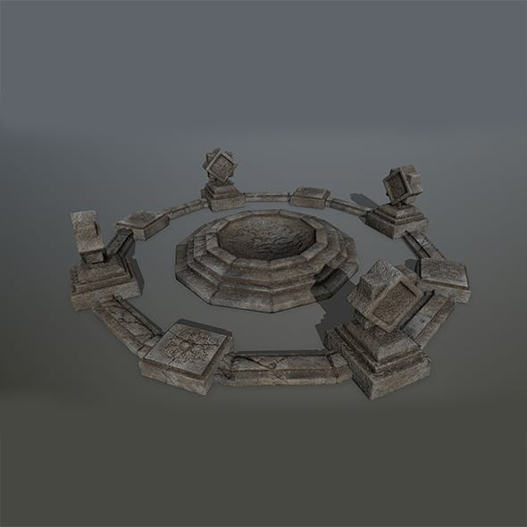 Old_Temple 2 - 3DOcean Item for Sale