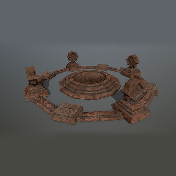 Old_Temple 3 - 3DOcean Item for Sale