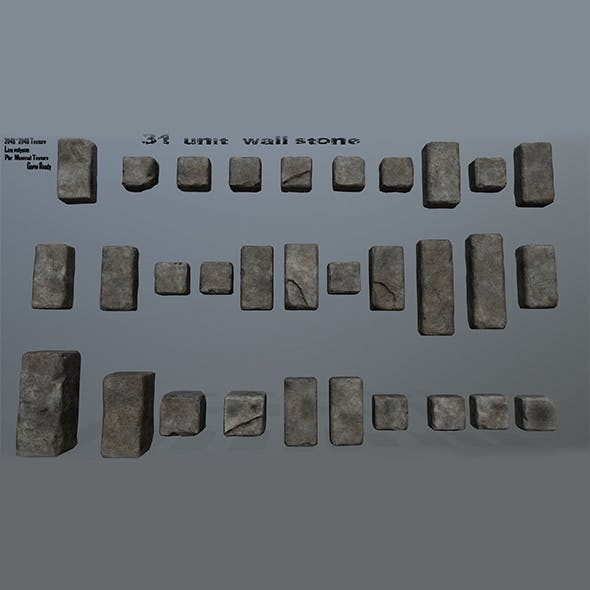 stone - 3DOcean Item for Sale