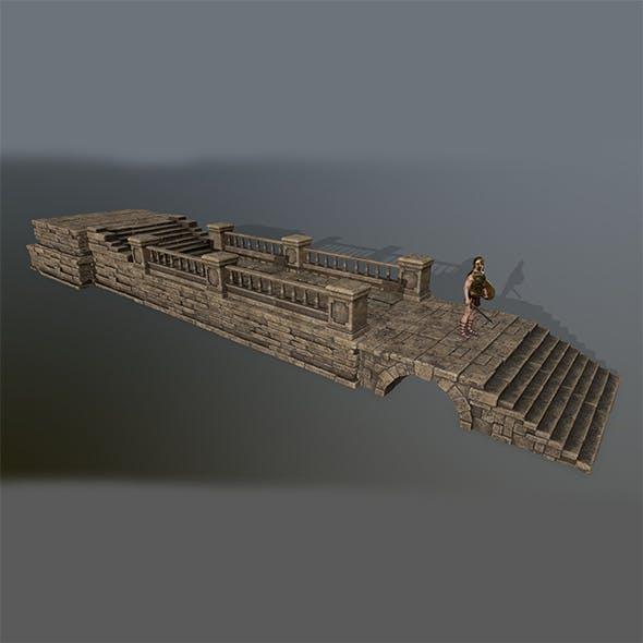 ruin set  2 - 3DOcean Item for Sale