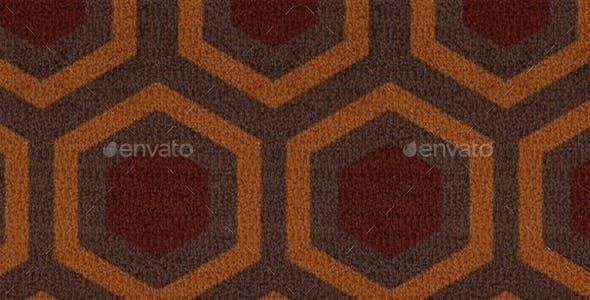 Overlook - Retro Carpet - CG Texture - 3DOcean Item for Sale