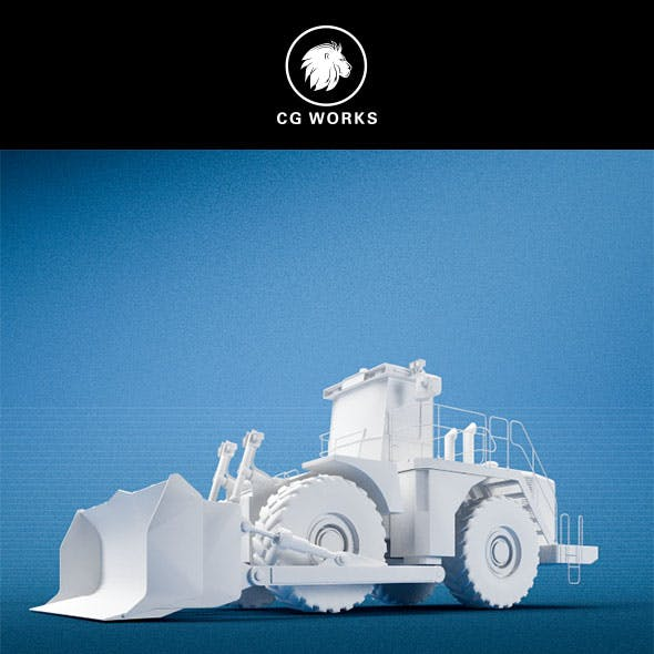 Construction machinery C4D & OBJ I