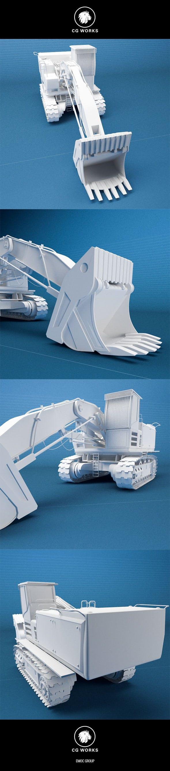 Construction machinery C4D & OBJ VII - 3DOcean Item for Sale