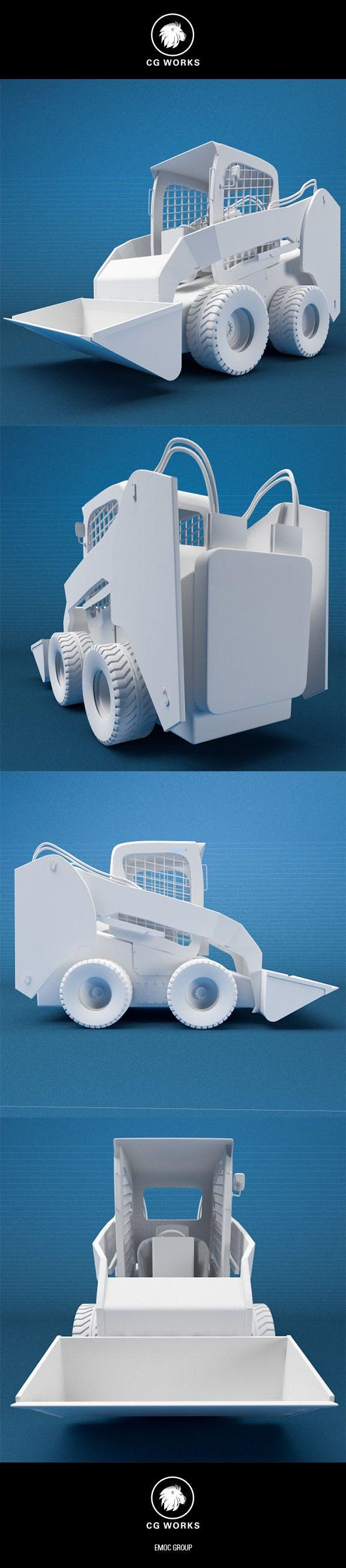 Construction machinery C4D & OBJ VIII - 3DOcean Item for Sale